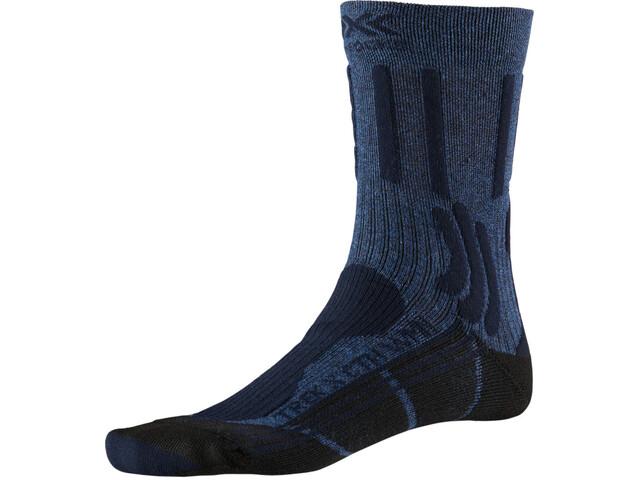 X-Socks Trek X CTN Sukat Naiset, midnight blue melange/opal black